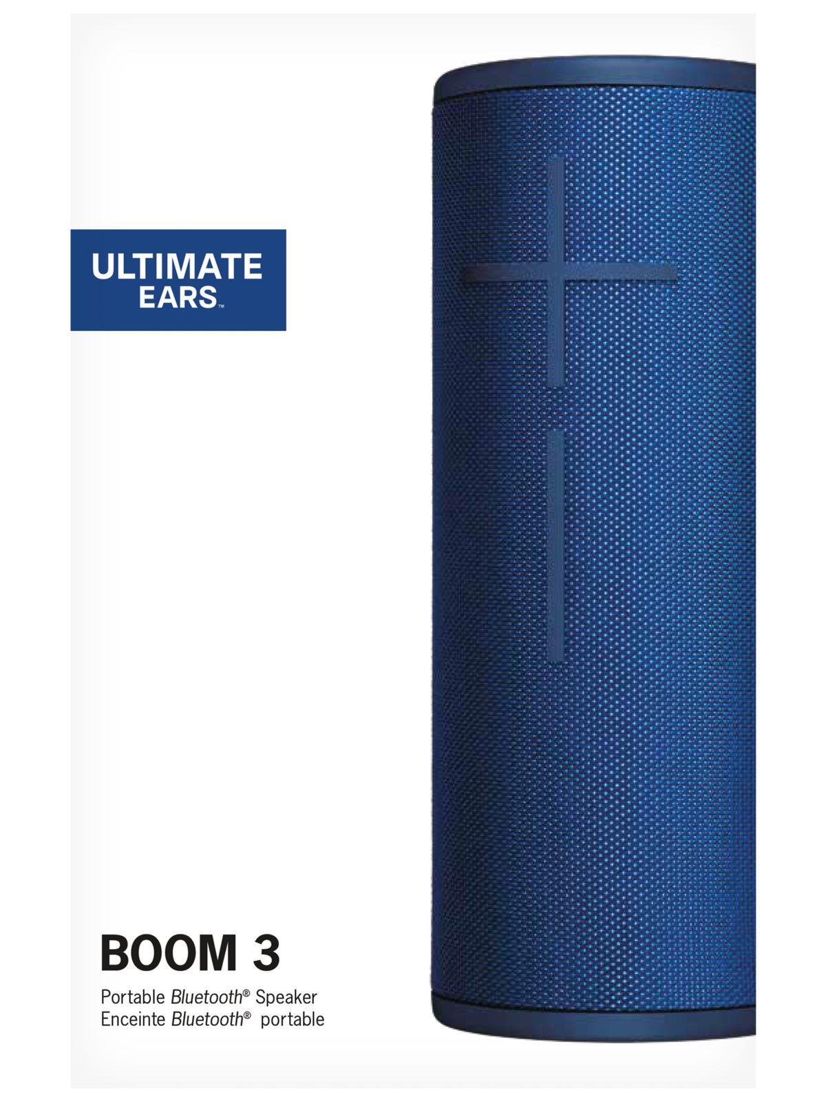 Descripción Ultimate Ears BOOM 3 Altavoz Bluetooth