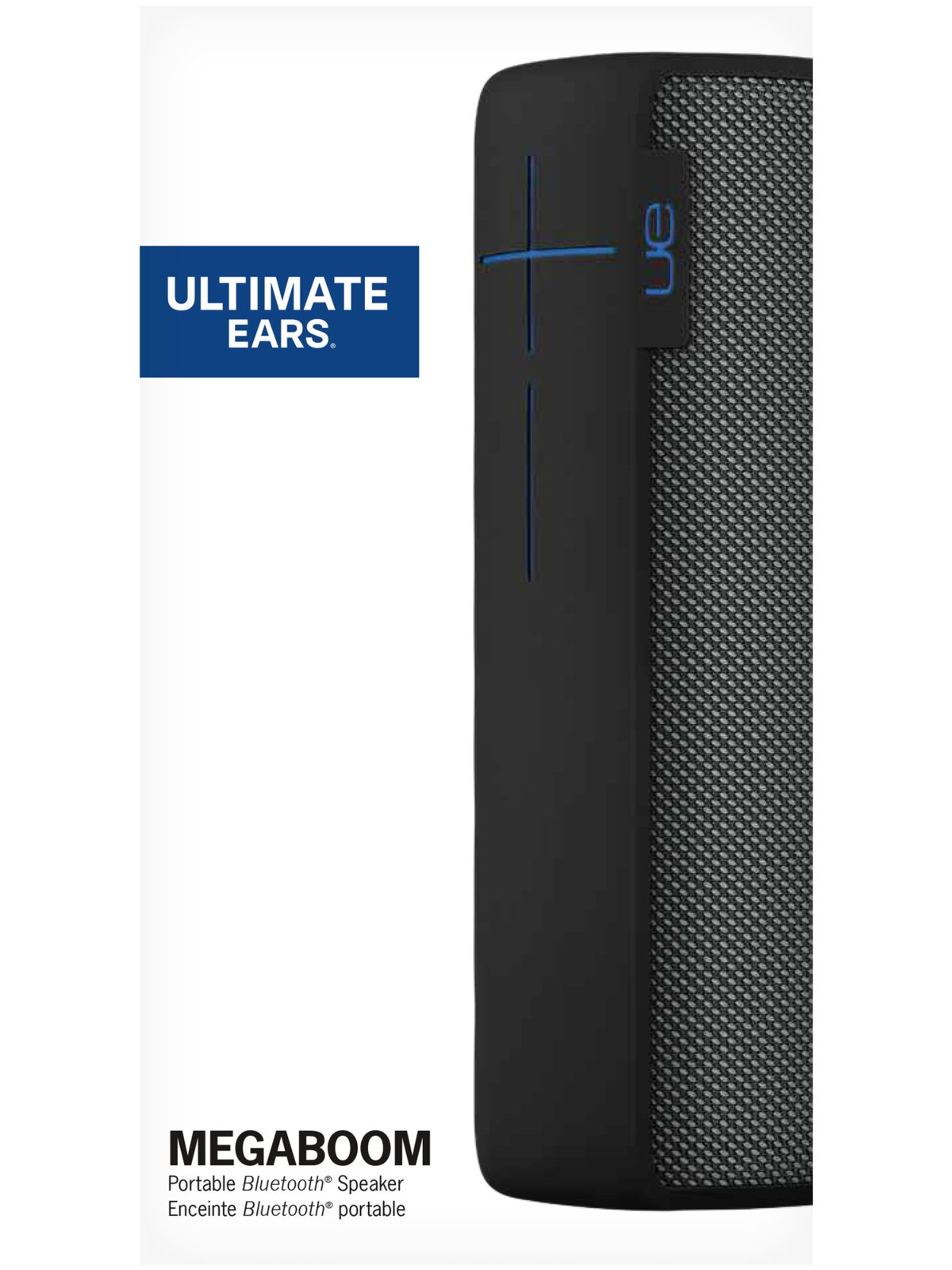 Ultimate Ears MEGABOOM Big Portable Bluetooth Speaker