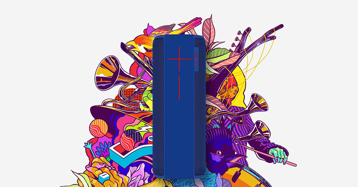 19173ae93cc0 Ultimate Ears MEGABOOM Big Portable Bluetooth Speaker